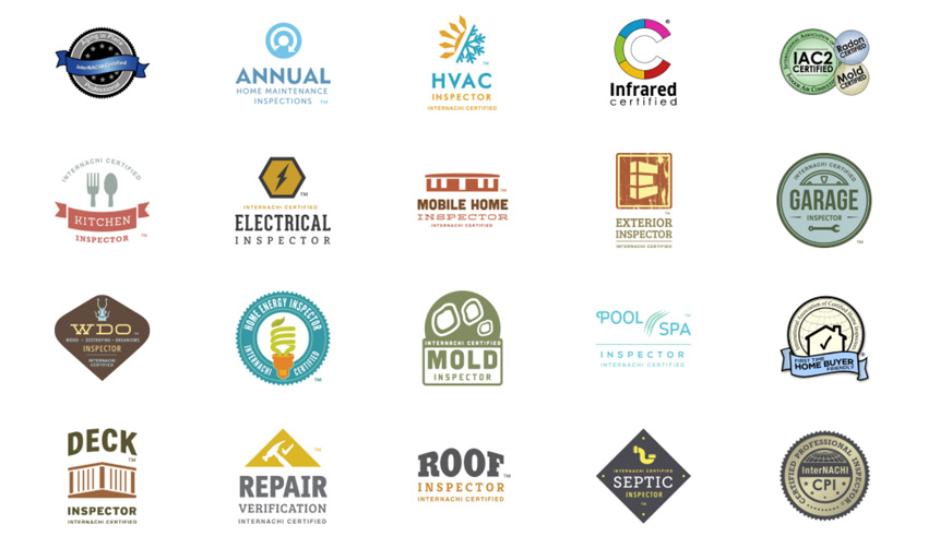 Indiana Home Inspections AWP Internachi Logos