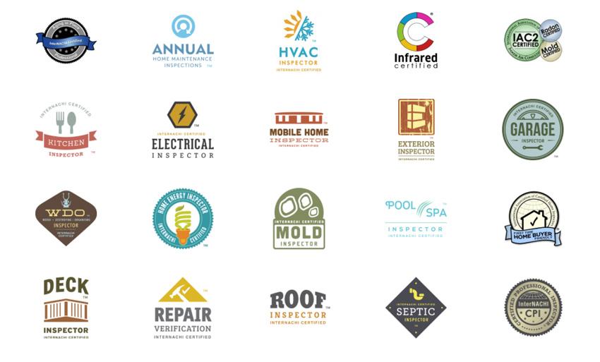 Indiana Home Inspections AWP Internachi Logos