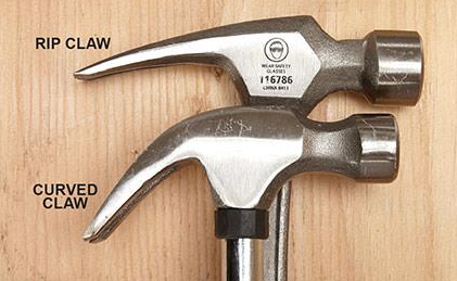 Curved Claw vs Straight Claw | Which hammer wins the challenge?
